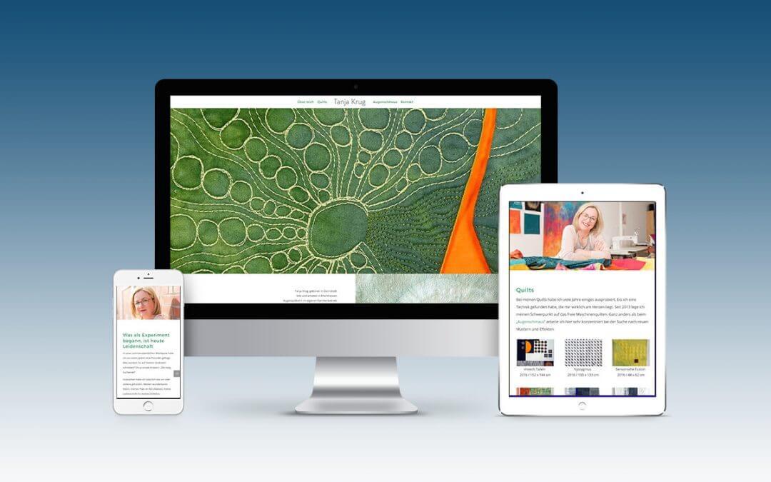 Webentwicklung: Tanja Krug Textilkunst