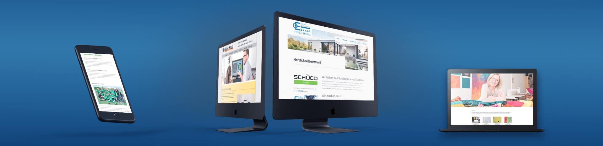 Headerbild Webdesign: Referenzen - Stephan-Benz.de