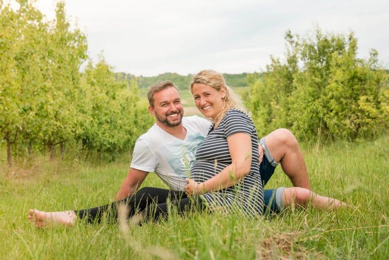 Babybauchfotografie: Sarah & Rene in Rheinhessen, Bild 35