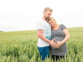 Babybauchfotografie: Sarah & Rene in Rheinhessen, Bild 8