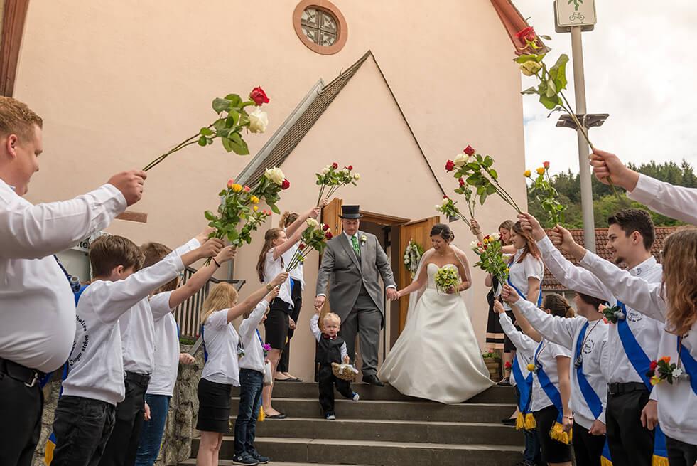 Hochzeit von Isabelle und Sascha