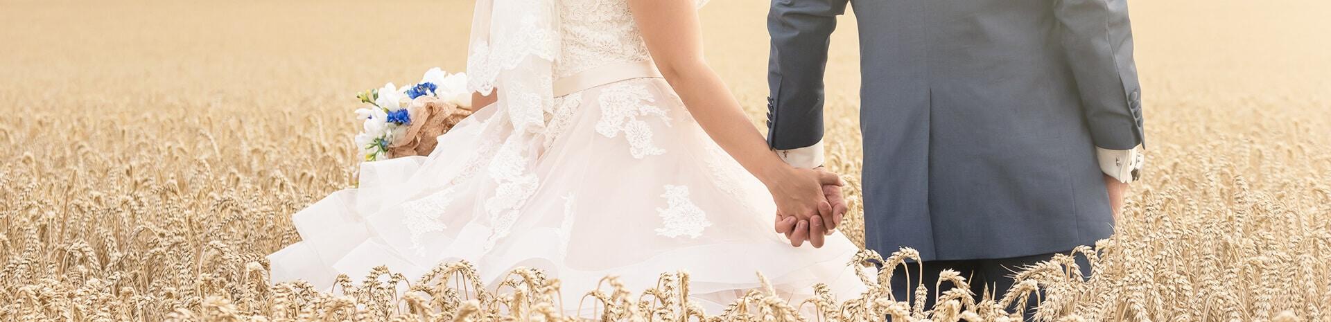 Headerbild Hochzeitsfotografie: Pakete & Preise