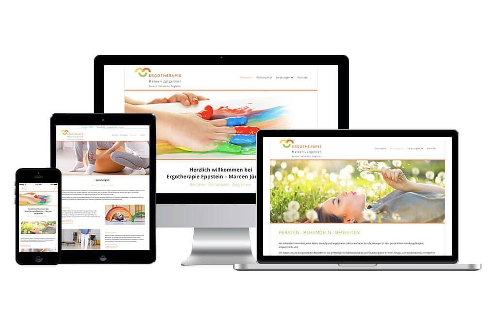 Neue Webseite: Ergotherapie Eppstein