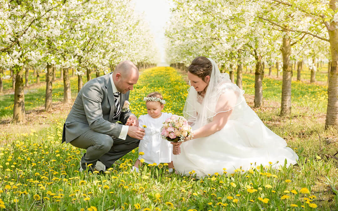 Sabine und Björn eröffnen die Hochzeitssaison 2018