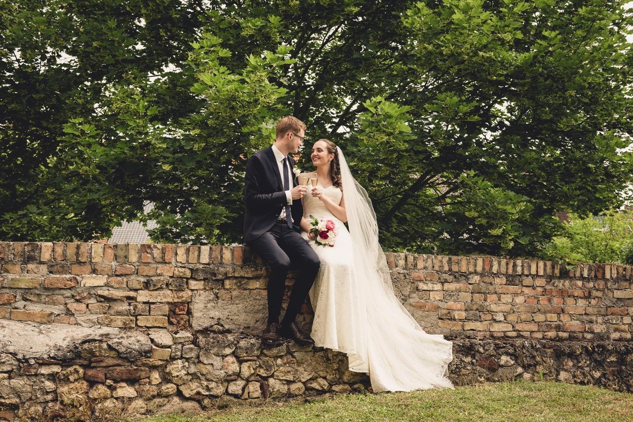 Hochzeitsfotografie in Nierstein: Svenja & Simon